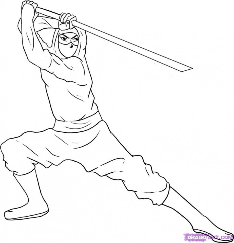 Get This Ninja Coloring Pages Free Printable srw2m !