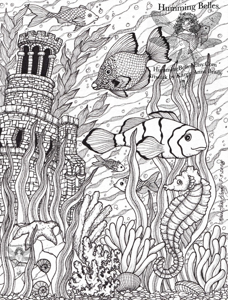 disney animals coloring book for adults get this ocean coloring pages for adults yebc7