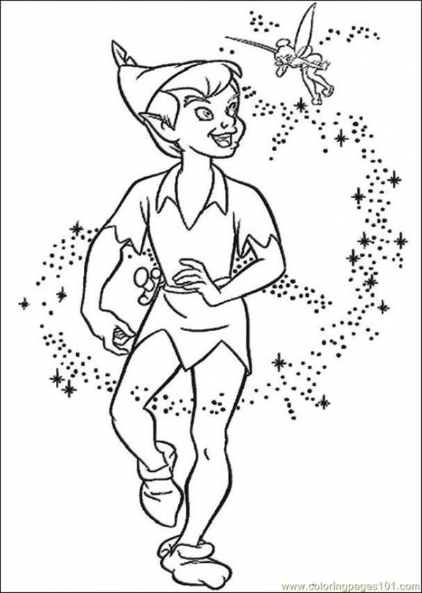 Get This Peter Pan Coloring Book Pages hst3x !