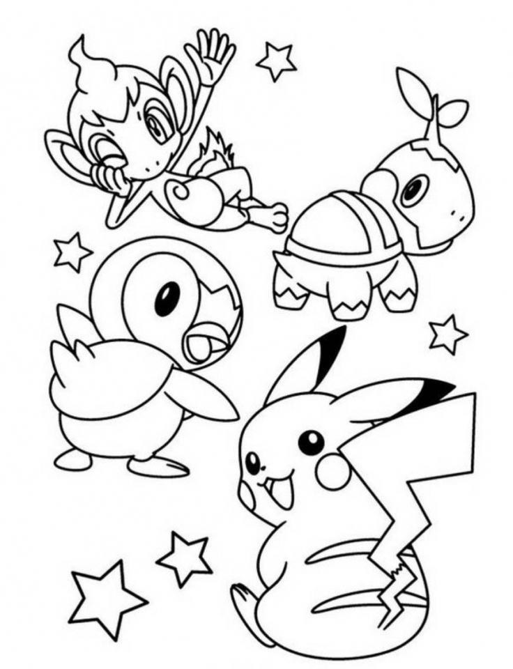 Get This Pikachu Coloring Pages Free agvt4