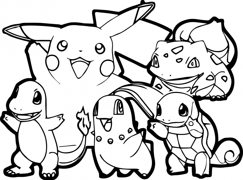 Get This Pikachu Coloring Pages Free arzt2 !