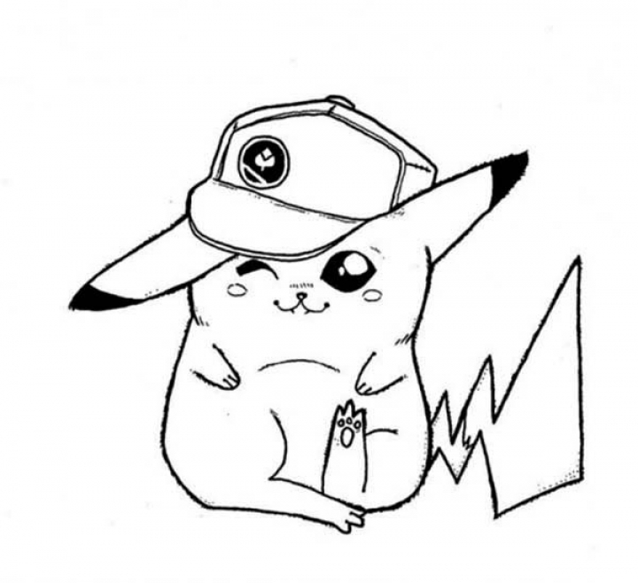 Get This Pikachu Coloring Pages Online y47d2