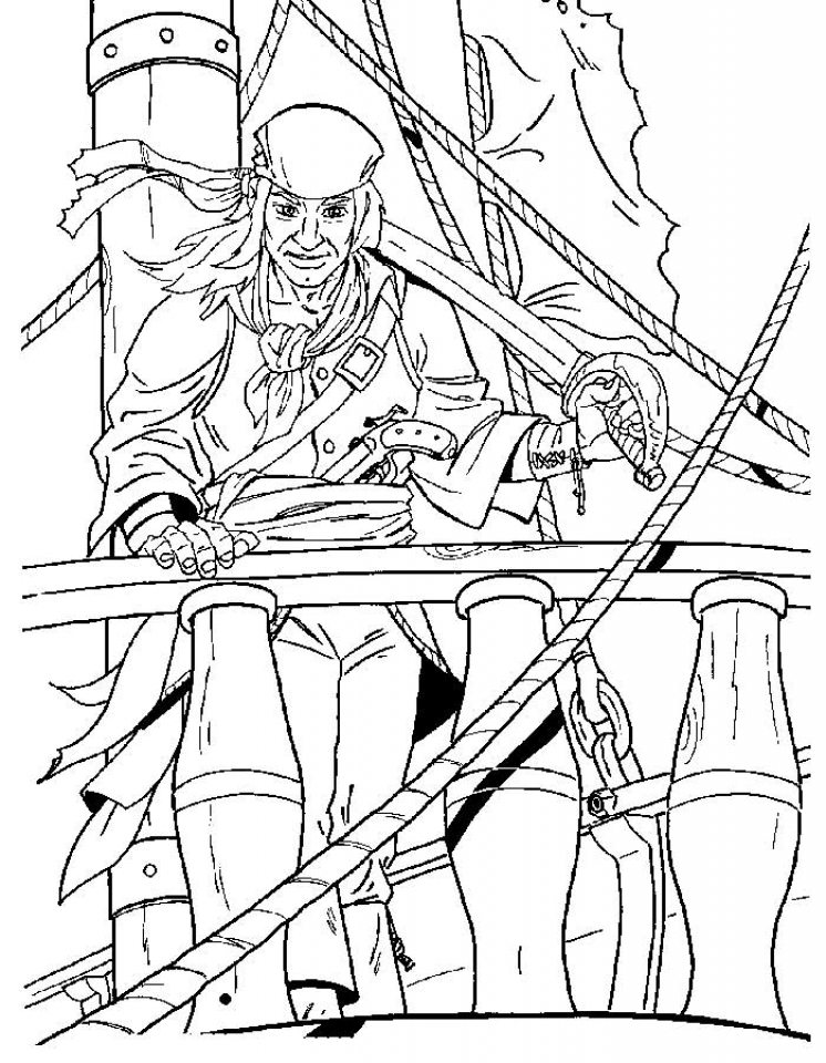 pirate coloring pages - get this pirate coloring pages for kids y3sn8