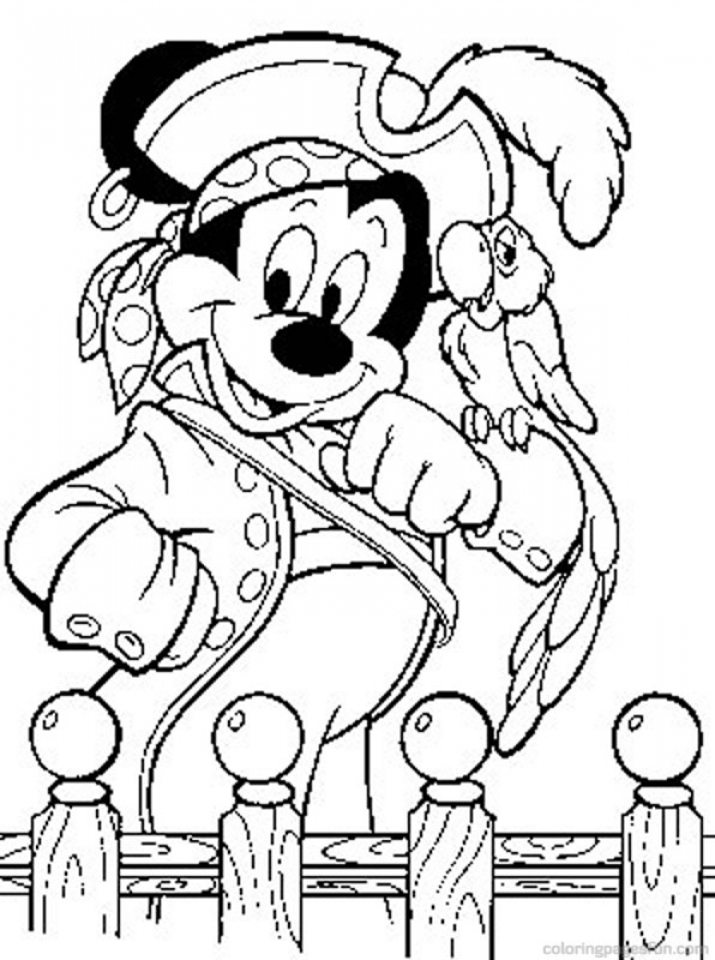 Get Pirate Coloring Pages