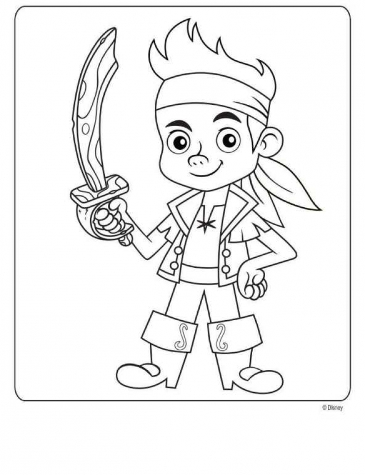 Get This Pirate Jake Coloring Pages 73122 !