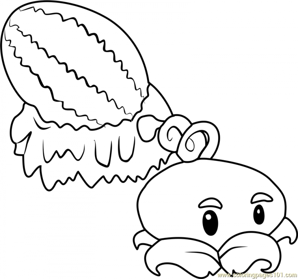 Get This Plants Vs. Zombies Coloring Pages Free for Kids ...