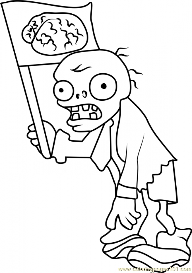 Get This Plants Vs. Zombies Coloring Pages Kids Printable