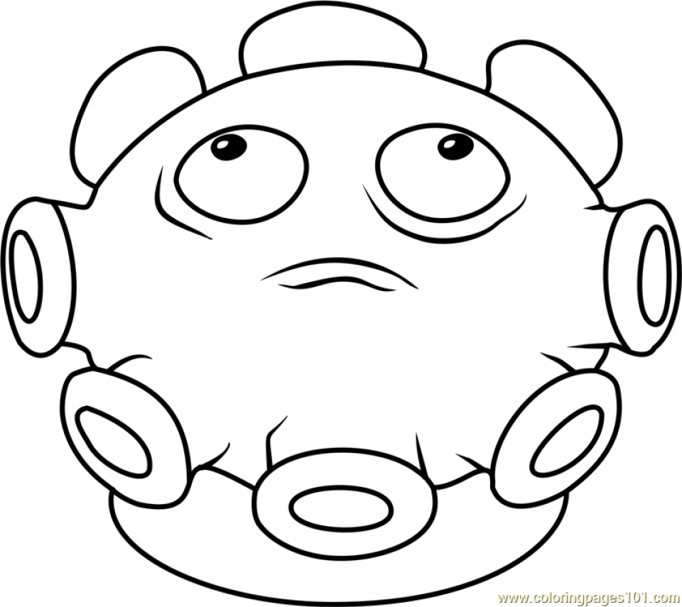 Get this plants vs zombies coloring pages kids printable for Pvz coloring pages
