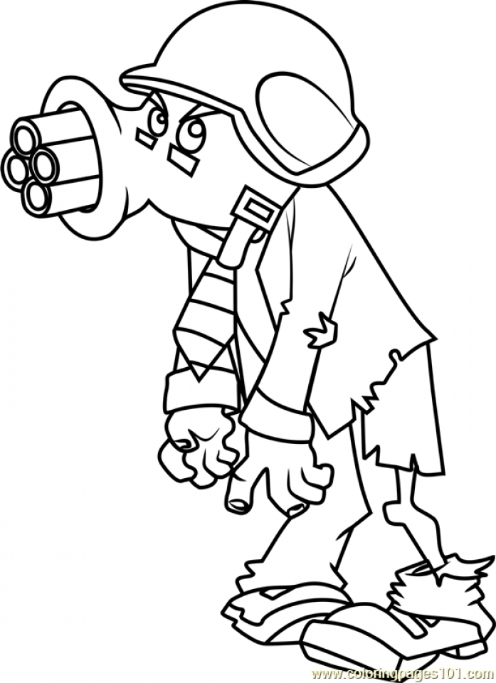 Get This Plants Vs. Zombies Coloring Pages Kids Printable ...