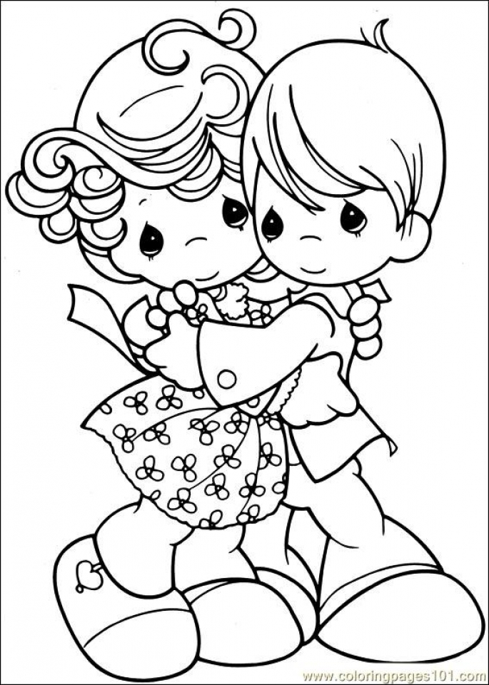 Get This Precious Moments Coloring Pages to Print for Free ...