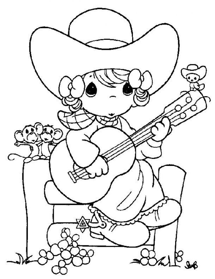 Get This Precious Moments Girl Coloring Pages 6621n !