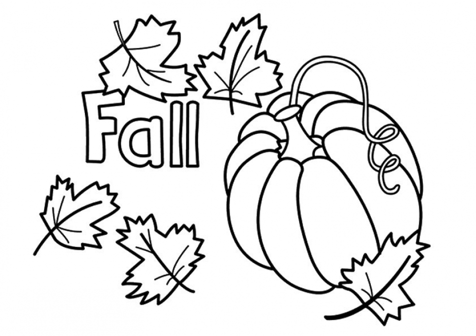 Get This Pumpkin Coloring Pages for Preschoolers 74027