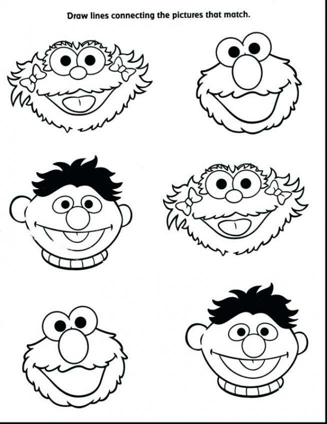 Get This Sesame Street Characters Coloring Pages Uvbt5