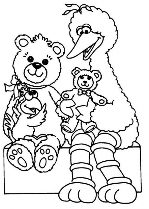 Get This Sesame Street Coloring Pages for Toddlers 73192 !