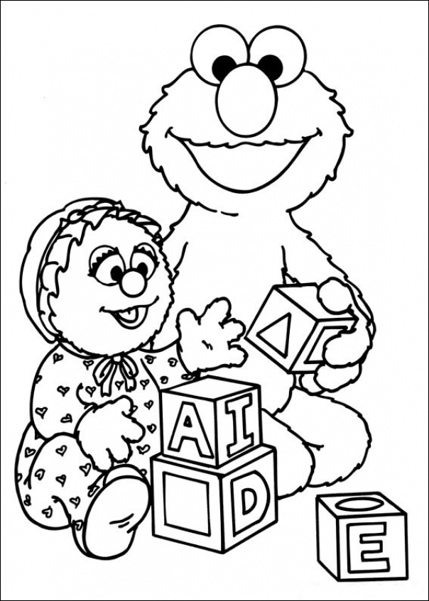 Get this sesame street coloring pages free 64733 for Sesame street halloween coloring pages