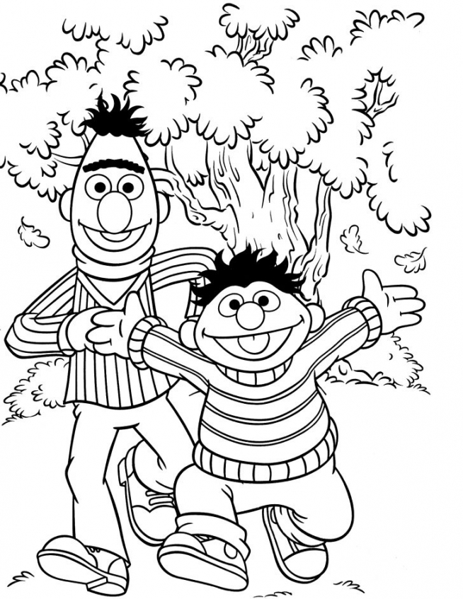 Get This Sesame Street Coloring Pages Kindergarten 64996 !