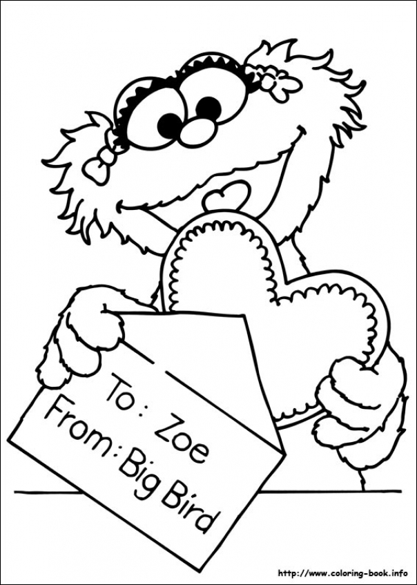 Sesame Street Coloring Pages Printable ga3n