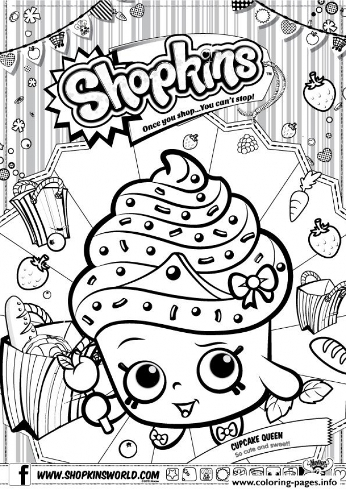 Get This shopkins coloring pages