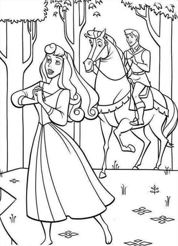 sleeping beauty coloring pages disney princess 5twmc