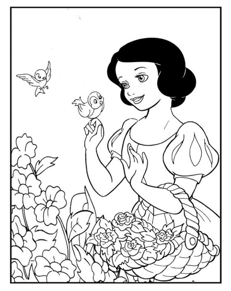 Get This Snow White Coloring Pages Online 52am6 !