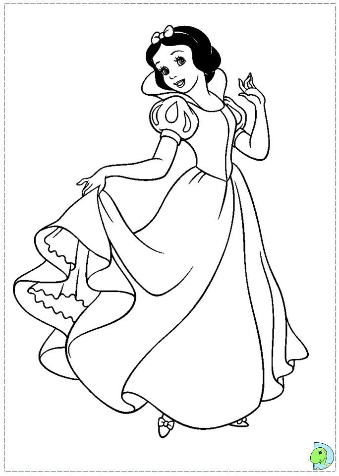 Get This Snow White Coloring Pages Printable cgd75 !