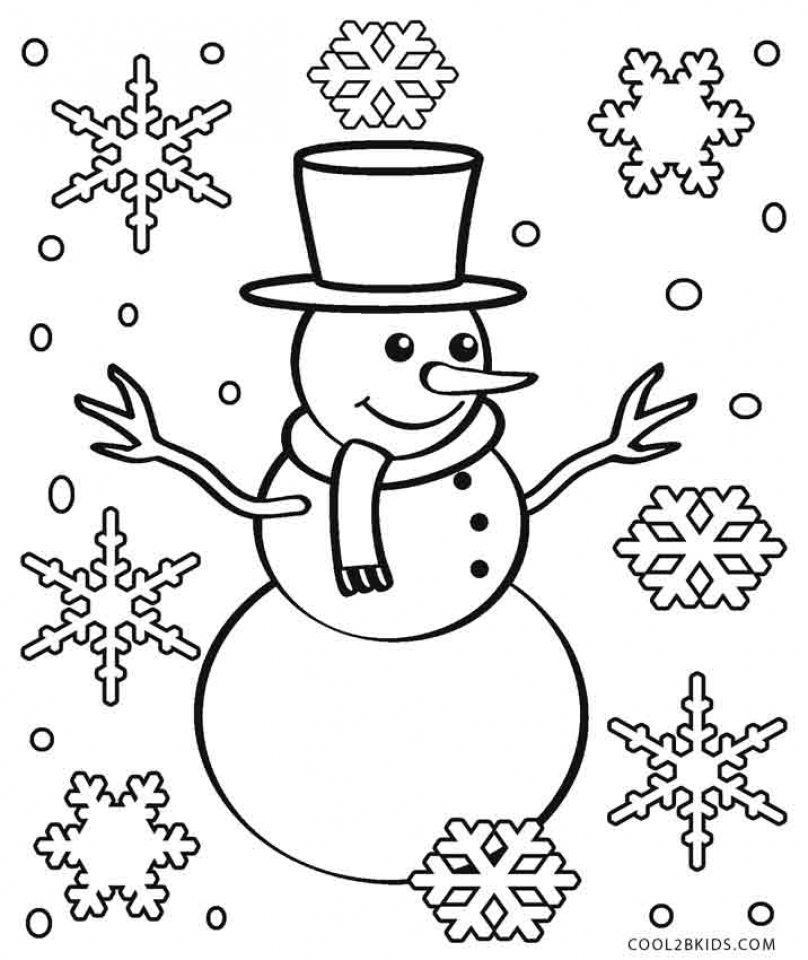snowflake coloring pages printable 16382 - Snowflake Coloring Page