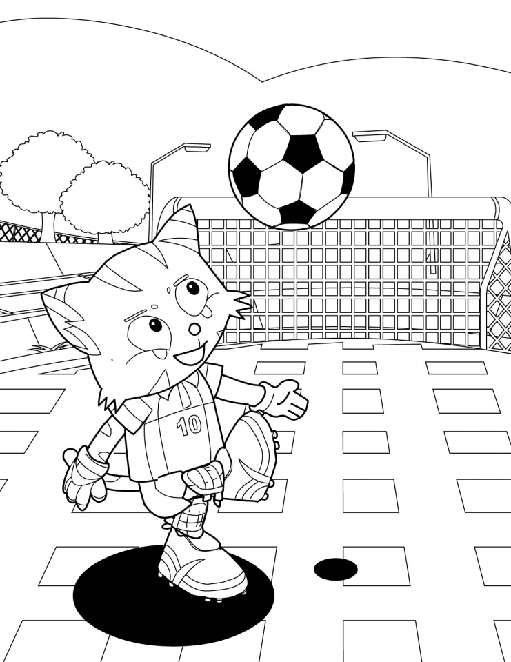 Get this soccer coloring pages to print for kids 264m8 for Soccer coloring pages for kids