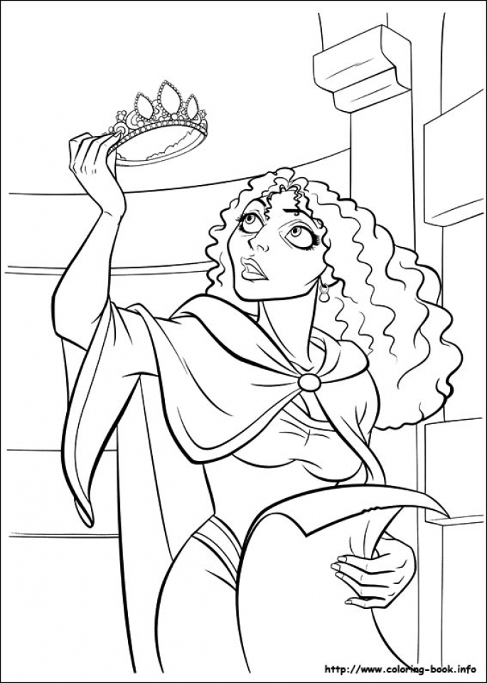 Get This Tangled Coloring Book Pages tcs3 !