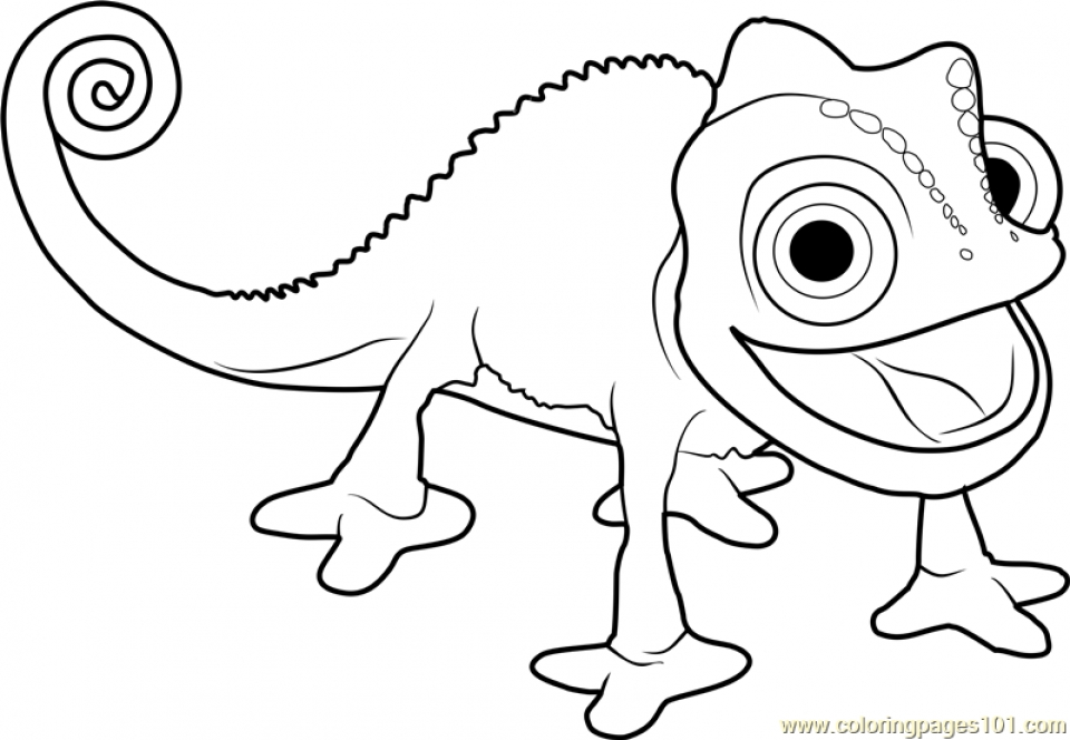 Get This Tangled Coloring Pages Pascal 8vb4x