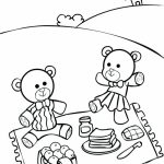 teddy bear picnic coloring pages uatr6 - Teddy Bear Picnic Coloring Pages