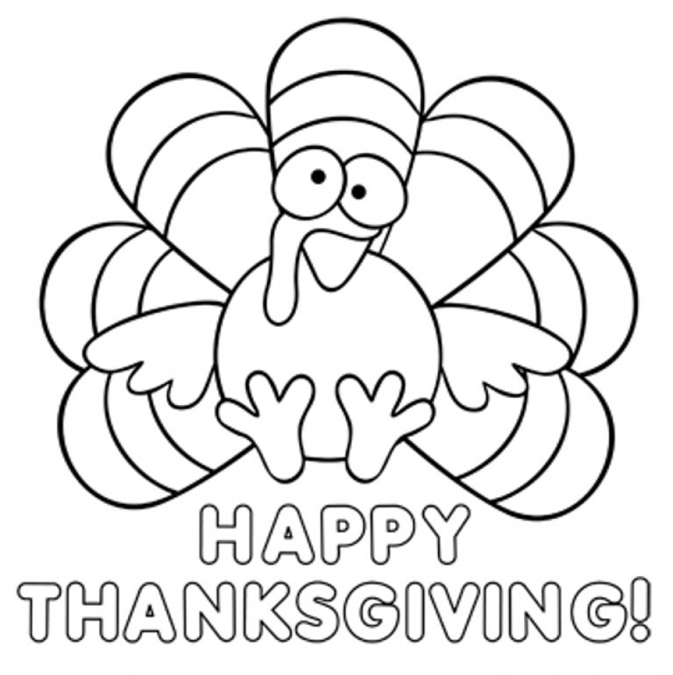 Coloring Pages Turkeys Preschool : Get this thanksgiving coloring pages for preschoolers xv