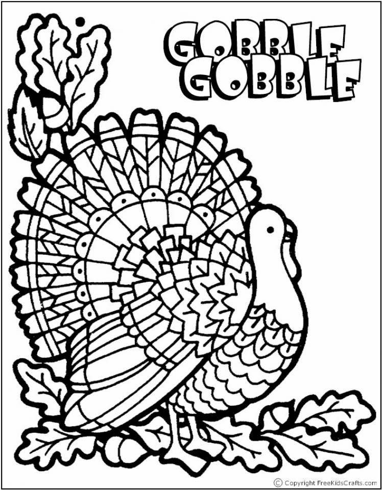 Get This Thanksgiving Coloring Pages For Preschoolers 6afb7