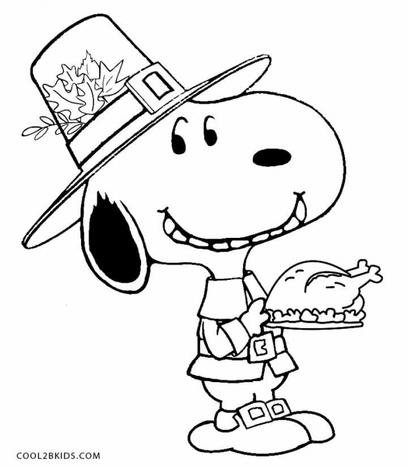 Coloring pages for preschoolers thanksgiving
