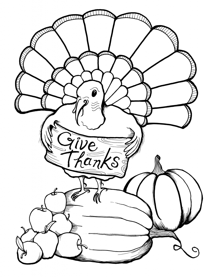 thanksgiving coloring pages free to print 1bcp4 - Thanksgiving Coloring Pages Free