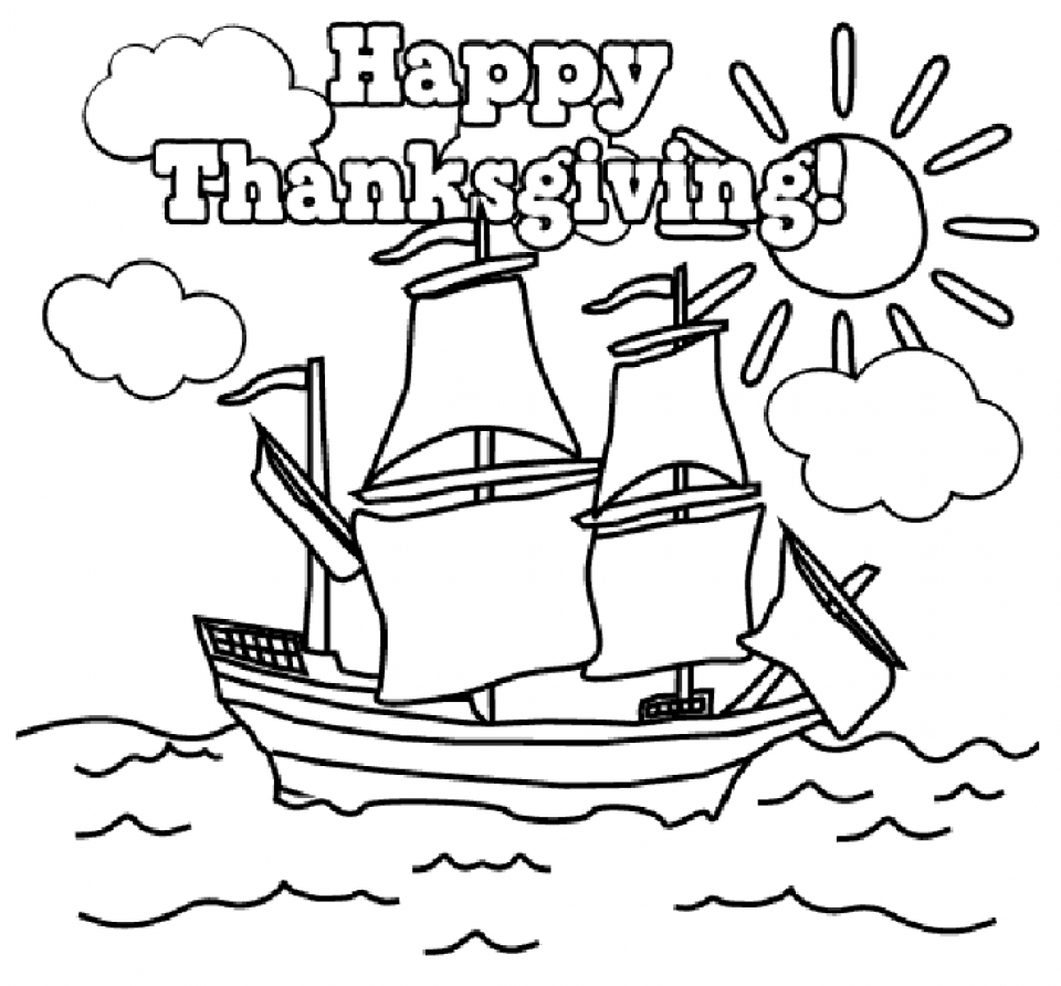 Thanksgiving Coloring Sheets For Kindergarten 63vc2