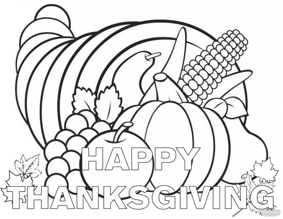 Get This Thanksgiving Coloring Sheets for Kindergarten 6asgt !