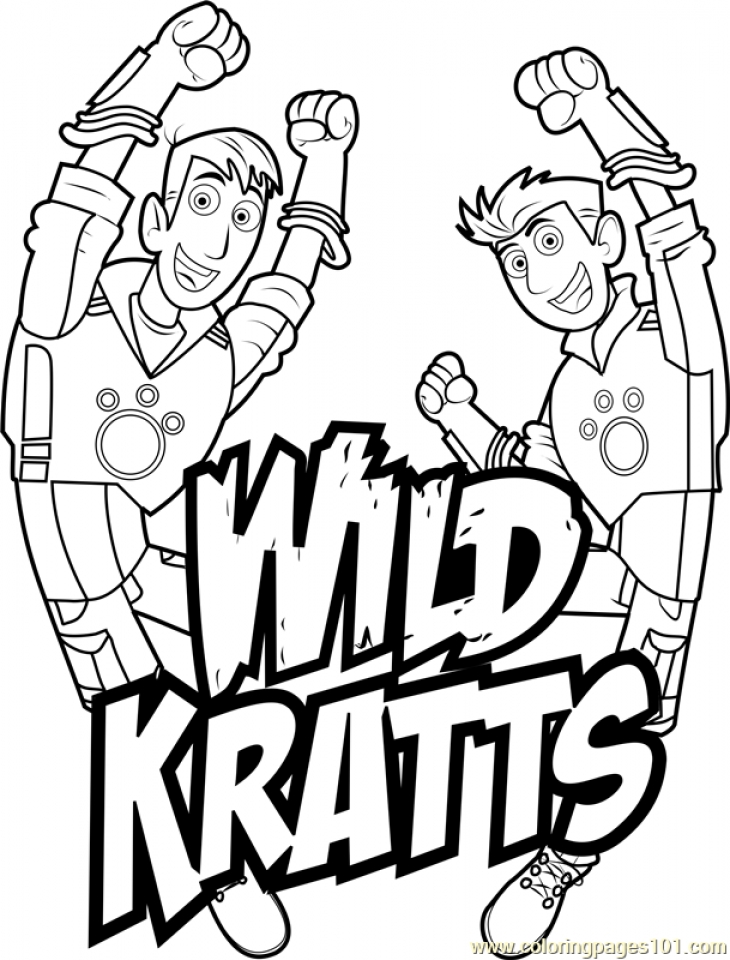 Get This Wild Kratts Coloring Pages Free ypy8n