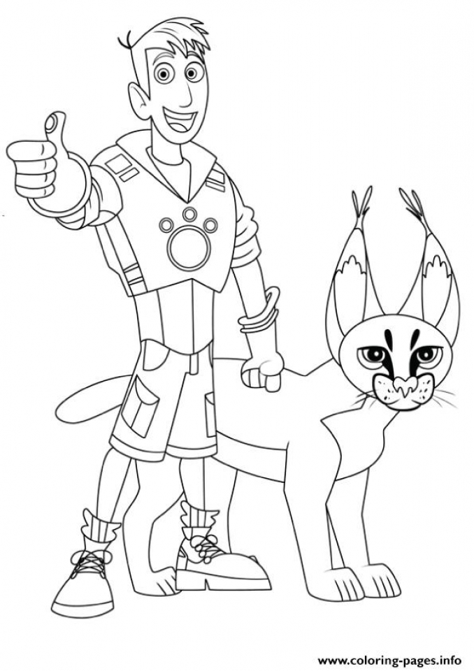 wild kratts coloring pages printable - photo#10
