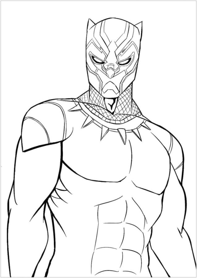 - 20+ Free Printable Black Panther Coloring Pages - EverFreeColoring.com