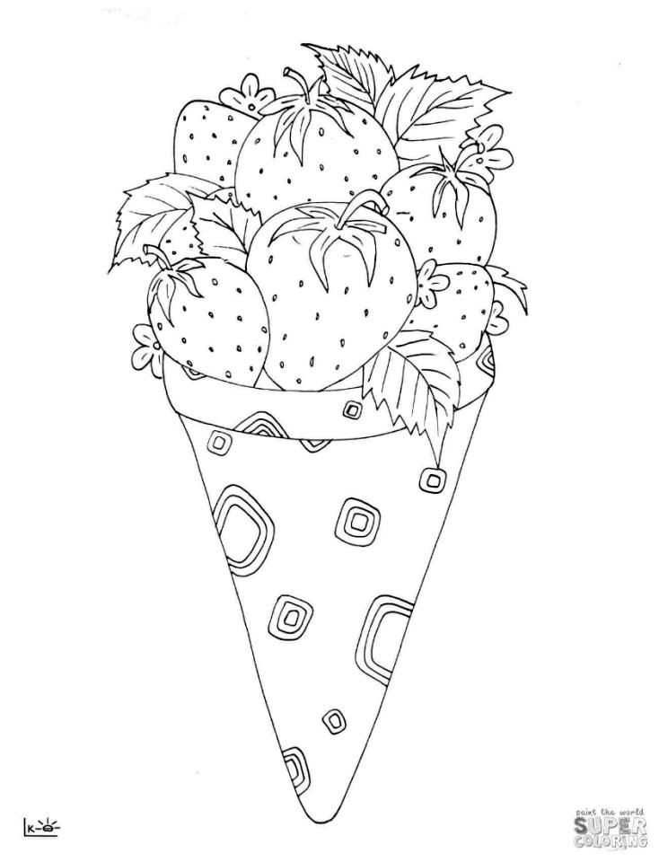 Get This Ice Cream Coloring Pages 893b