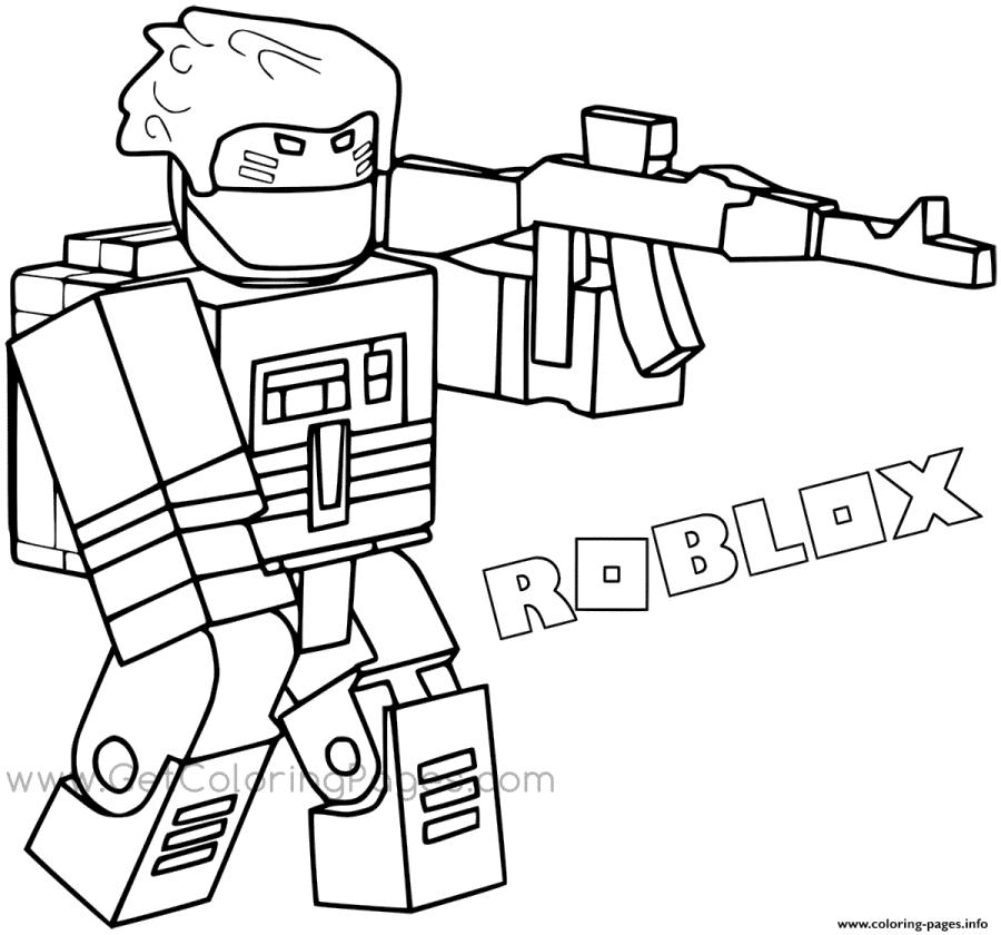 Get This Roblox Coloring Pages Printable sld2