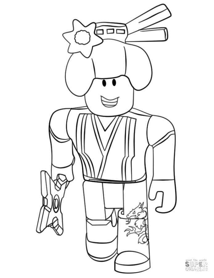 Get This Roblox Coloring Pages nnj3