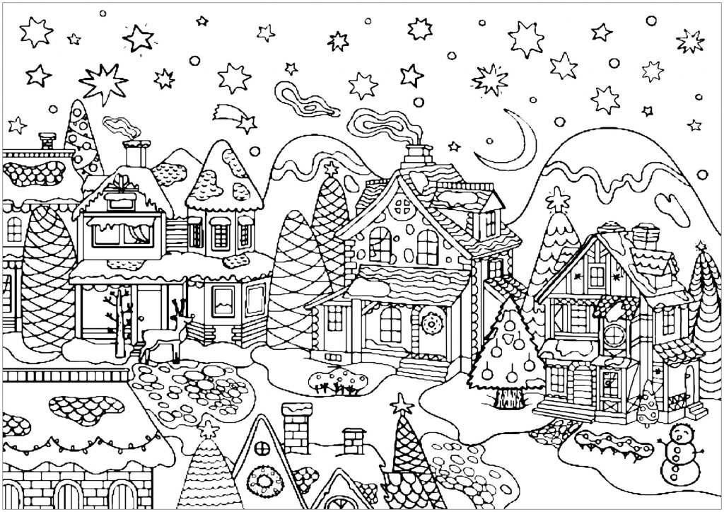 Get This Adult Christmas Coloring Pages vlg1