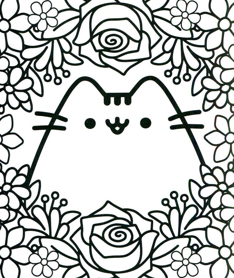 - Get This Kawaii Coloring Pages Pusheen Cat For Adults !