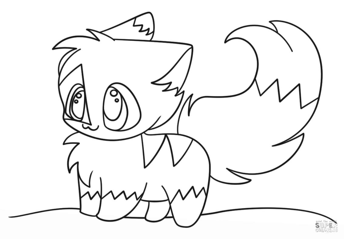 Get This Kawaii Cute Animal Coloring Pages