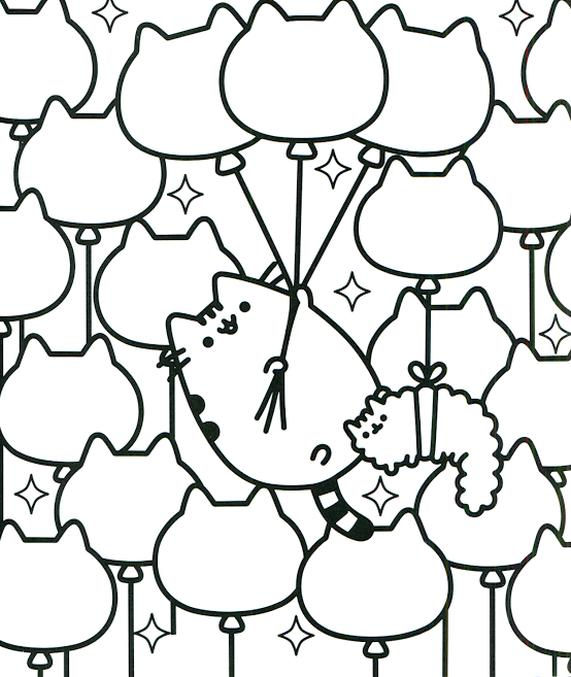 - Get This Kawaii Pusheen Cat Coloring Pages To Print !