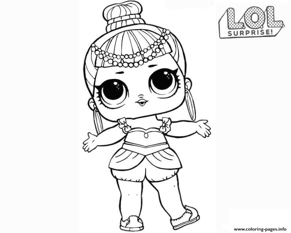 Get This LOL Surprise Dolls Coloring Pages Free Gne1 !