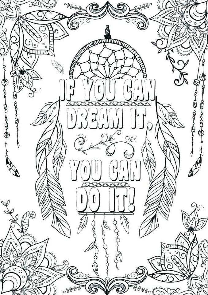 20+ Free Printable Quote Coloring Pages - EverFreeColoring.com