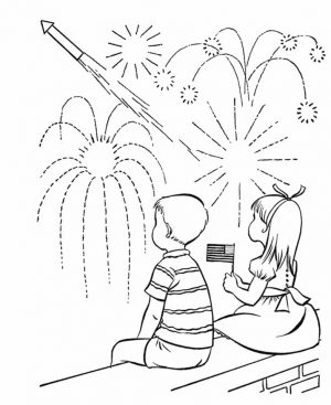 4th of July Coloring Pages for Toddlers – ut831