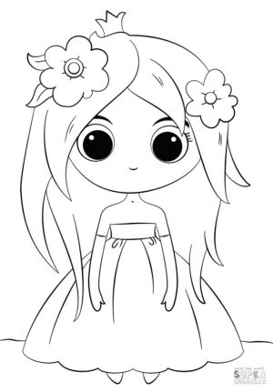 Adorable Kawaii Coloring Pages
